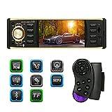 KKmoon 4,1 pouces TFT HD numérique écran voiture Radio MP5 Player Multimedia Entertainment BT USB/TF FM Aux Input volant télécommande universelle