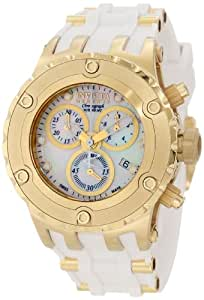 Invicta Ladies Rserve Specailty Watch 531 with Ipg White Dial and Strap