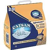 Catsan Minérale Agglomérante Plus Litière pour Chats 5L (Lot de 3)