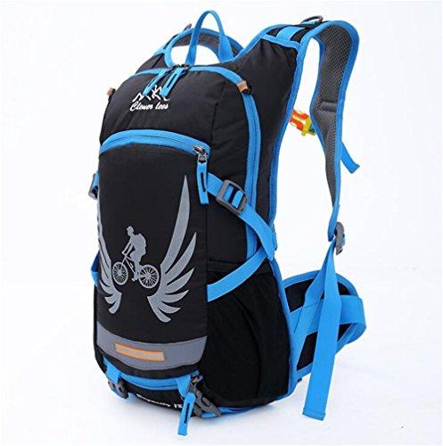 Wmshpeds Equitazione Sport borsa da viaggio outdoor borsa a tracolla bike water bag zaino cavalcare le forniture di attrezzature D