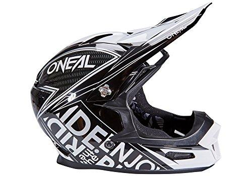 O'Neal Backflip Rl2 Bungarra Fahrradhelm, Schwarz / Weiß, Größe L (59-60cm)