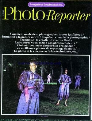 PHOTO REPORTER [No 3] du 01/11/1978 - COMMENT ON DEVIENT PHOTOGRAPHE - INITIATION A LA NATURE MORTE - TECHNIQUE - LABO- COMMENT CHOISIR SON PROJECTEUR - KEN BROWAR.