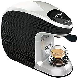 Macchina Caffè Espesso Uno Capsule System Illy e Kimbo, Hotpoint Ariston CM MS QBG0, colore Grigio e Nero