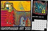 Hundertwasser Broschürenkalender Art 2020: Der Besondere