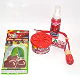L&D Cherry - Kirsche 4-er TESTPAKET Duftflakon Duftspray Organic Scent
