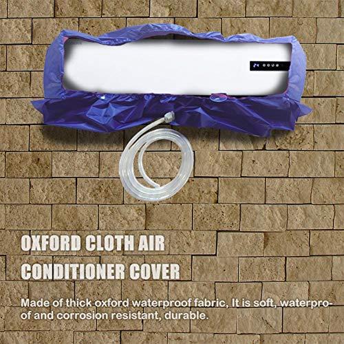 feiledi Trade Klimaanlagen-Reinigungsabdeckung, hängende wasserdichte staubdichte Haushaltsreinigungsabdeckung, mit verdicktem Abflussrohr verhindern