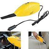 UEETEK OM-5007 portátil potente 12V DC coche uso aspirador colector de polvo (amarillo)