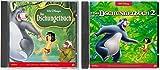 2 CDs - Das Dschungelbuch - Das Original Hörspiel zum Film - 1+2 im Set - Deutsche Originalware [2 CDs]