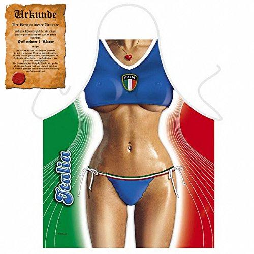 GeschenkIdeen.Haus - Sexy Küchenschürze - Italian Girl