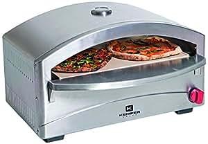 Kemper 90655 Pizzaofen Pizza Ofen Gas: Amazon.de: Garten
