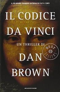 Il Codice da Vinci par Dan Brown