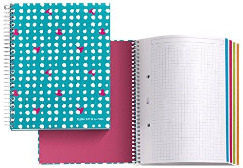 Notizbuch-A5-Agatha-Ruiz-De-La-Prada-Regen-120-Blatt