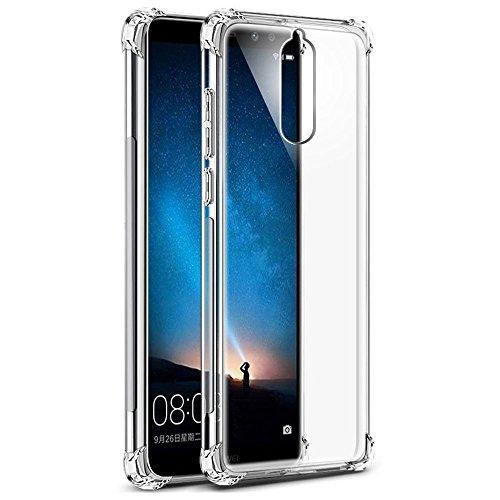 KOLLOEY Huawei Mate 10 Lite Custodia,Cover Angoli