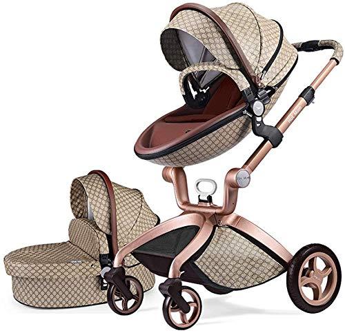 Hot Mom 2-1 cochecito F22 con buggy top y capazo 2020 nuevo diseño, asiento para bebé vendido por separado, múltiple