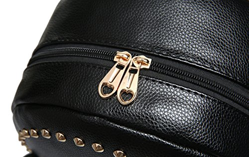Keshi Neu Faschion Rucksäcke Damen Mädchen Schüler Lässige Canvas Rucksack Vintage Backpack Daypack Schulranzen Schulrucksack Wanderrucksack Schultasche Rucksack für Freizeit Outdoor Sport PU Gelb