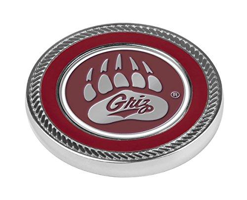 LinksWalker 2Montana grizzlies-challenge Coin/2BALL MARKER, silber, one size (Silber-herausforderung Münze)