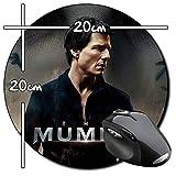 The Mummy Tom Cruise Tapis De Souris Ronde Round Mousepad PC