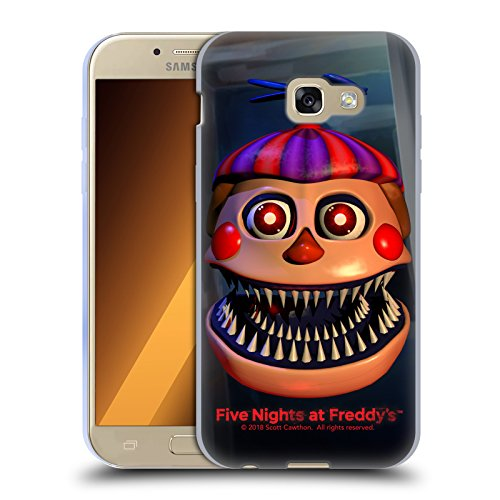 Official Five Nights At Freddy's Nightmare Balloon Boy Game 4 Soft Gel Case for Samsung Galaxy A5 (2017)