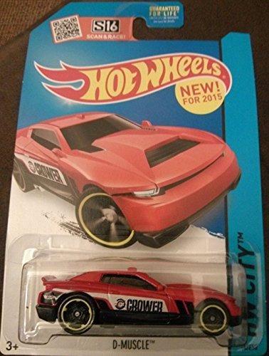 Hot Wheels, 2015 HW City, D-Muscle [Red] Die-Cast Vehicle #14/250