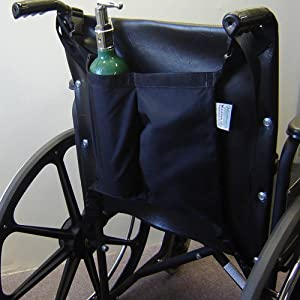 Wheelchair Oxygen Tank Holder Mini