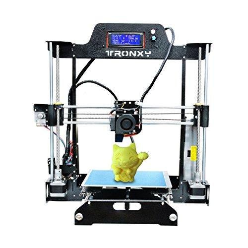 tronxy Imprimante 3D DIY T819Grande Taille d'impression 220x 220x 240mm haute précision Structure en acier auto Level Écran LCD Kit