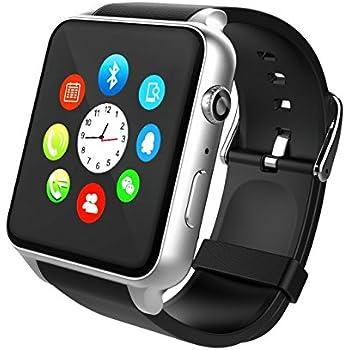 Smartwatch, STOGA Reloj Inteligente Android con Ranura para ...