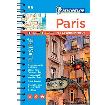 Plan Paris par arrondissements Michelin