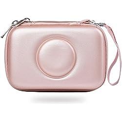 Katia dur EVA stockage sac de transport pour Polaroid Snap instantané appareil photo numérique (or)