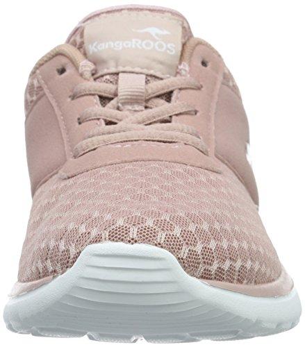 KangaROOSBumpy - Scarpe da Ginnastica Basse Donna Rosa (Pink (Rose 640))