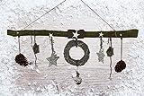 DEKO AST AUS BUCHENHOLZ von CreaTina als LIMITIERTE WEIHNACHTSEDITION Circa 118 cm lang ist dieser Ast perfekt als Fensterdekoration oder Raumdekoration.