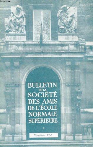 Bulletin de la societe des amis de l'ecole normale superieure - 36e annee - n° 74
