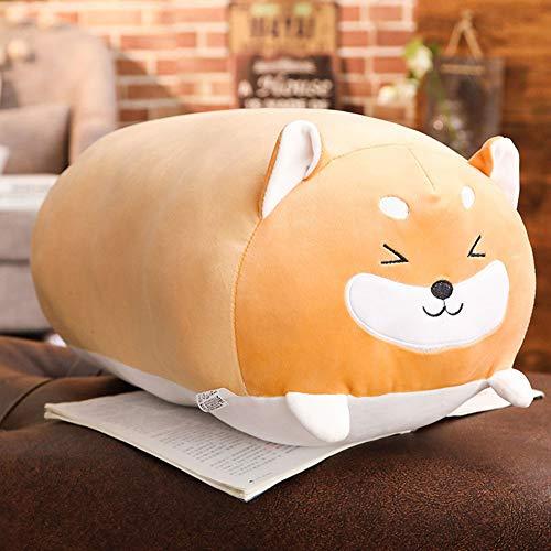Etbotu cuscino peluche, cuscino della bambola del giocattolo della peluche del cuscino del cotone di morbidezza sveglia 28cm per il giorno e il compleanno di san valentino shiba inu
