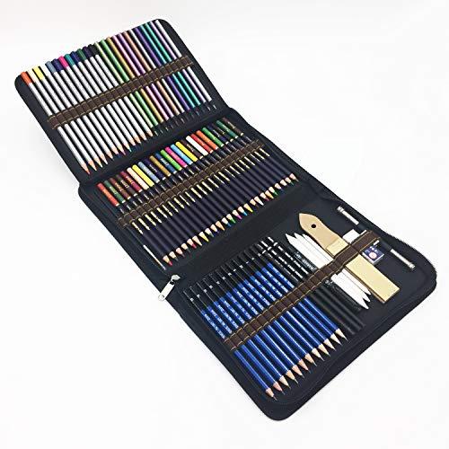 72 Kit Matite Colorate e matite da disegno per Disegnare e Libri da Colorare,Regalo Ideale per Artisti, Adulti e Bambini