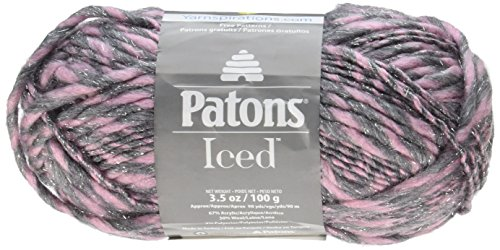 Spinrite Iced Yarn-Blush, altri,