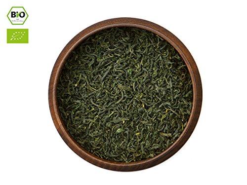 Japanischer Grüner Tee Tamaryokucha Gokase, BIO-zertifiziert, Super-Premium, beschattet. 50g, lose, nicht aromatisiert. Rarität aus Gokase. Milder, nussiger, mandelartiger Charakter. Direkt aus Japan