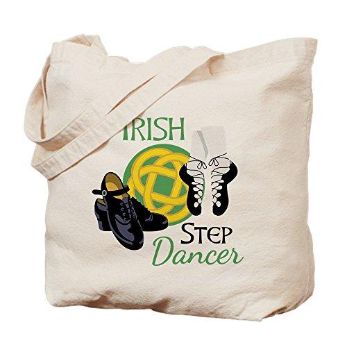 CafePress Irish Step Dancer Tragetasche, canvas, khaki, M