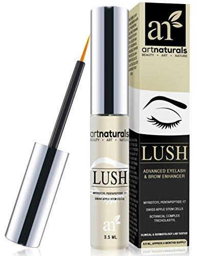4ff17c104db ArtNaturals Eyelash Growth Serum (3.5ml) - Thicker, Longer Eyelashes &  Eyebrows Enhancer