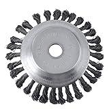 Wildkrautbürste Unkrautbürste für Motorsense Freischneider 25,4 x 200 mm