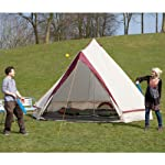 Skandika Waterproof Comanche Unisex Outdoor Frame Tent available in Red - 8 Persons 15
