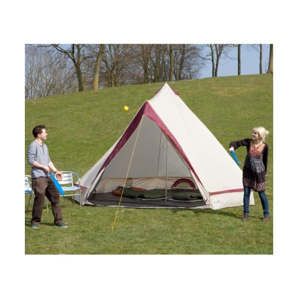Skandika Waterproof Comanche Unisex Outdoor Frame Tent available in Red - 8 Persons 6