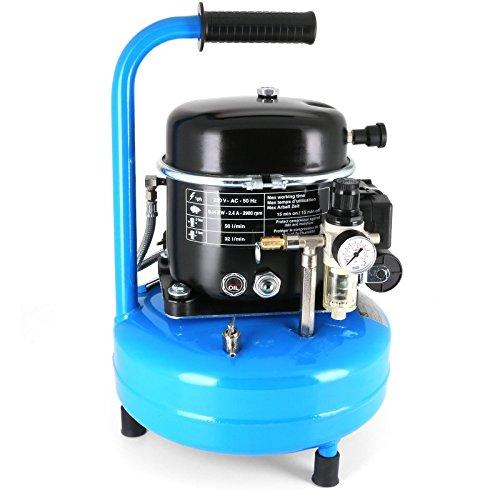 Druckluft - Kompressor Silent 40 dB / 0,5 PS / 9 l / 8 bar Typ L 9-75