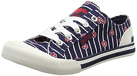 Rocket Dog Jazzin, Sneakers Basses femme - Bleu (Kyoto Navy) - 40 EU (Taille Fabricant : 7 UK)