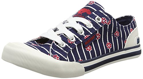 Rocket Dog  Jazzin, Sneakers Basses femme Bleu (Kyoto Navy)