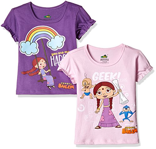 Chhota-Bheem-Girls-T-Shirt-Pack-of-2