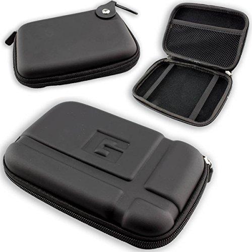 caseroxx GPS-Tasche für Tomtom Start 25 M Europe Traffic, Navi Tasche in schwarz