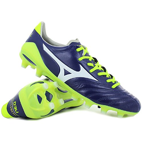 Mizuno Morelia Neo II MD, Chaussures de Football Homme blue