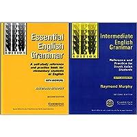 Cambridge Essential + Intermediate English Grammar (Set of 2 Books with Answers)