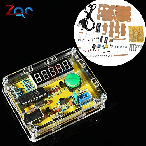 DIY-Kits 1Hz-50MHz Crystal Oszillator Tester Frequency Counter TESTER Meter Case Best Price Durable DIY LED Kit