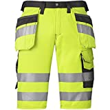Snickers HV Shorts gelb Kl. 1 Gr. 52