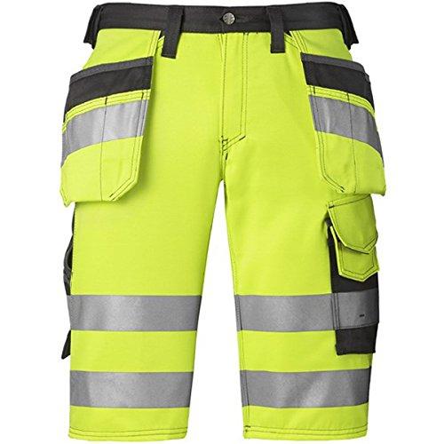 Snickers HV Shorts gelb Kl. 1 Gr. 52 (Schnitt-kurze Baumwolle-französischer)